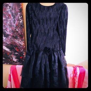 👠NEW ITEM👠VTG RARE formal dress w/tulle skirt